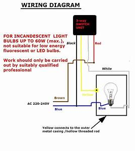 Touch Dimmer Wiring Diagram