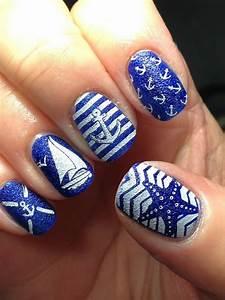 16 nautical anchor nail designs for summer fashionsy