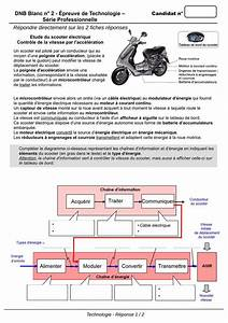 Diagramme Techno Brevet