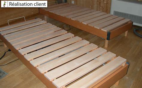 fabriquer un cache sommier lattes de sommier et consoles sur mesure le du bois