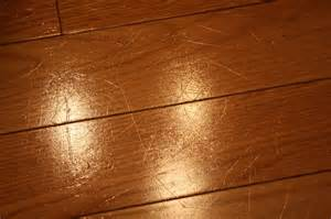 removing scratches from hardwood floors