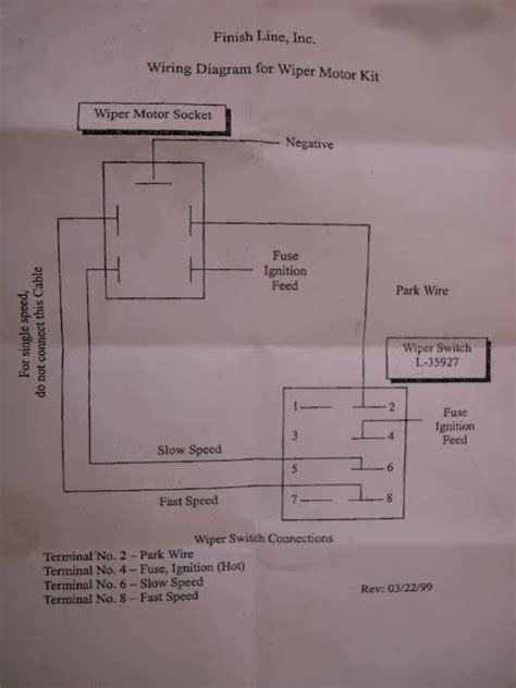 lucas wiper motor wiring ffcars factory five