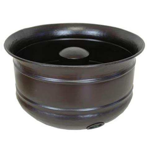 hose pot india house brass hose pot 18052 the home depot