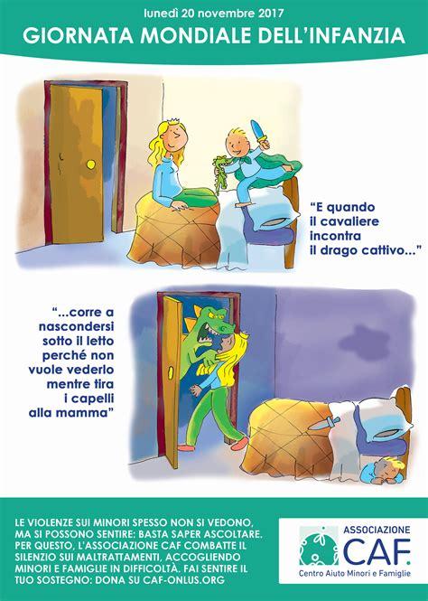 caf si鑒e social domani 20 novembre è la giornata mondiale dei diritti dell 39 infanzia cagna di sensibilizzazione caf m social magazine emmepress com