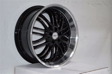 4 gwg wheels 20 inch black amaya rims fit 5x114 3 et38