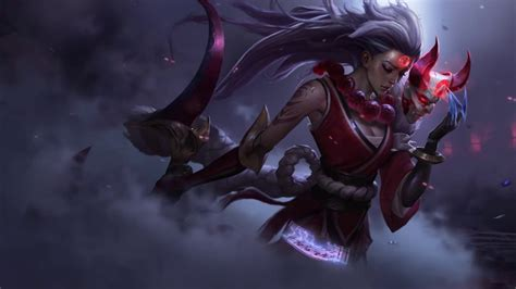 Legend Of Animated Wallpaper - league of legends blood moon diana animated wallpaper