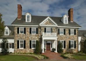 Colonial Home Period Colonial Home Exterior Philadelphia By Dewson Construction Company