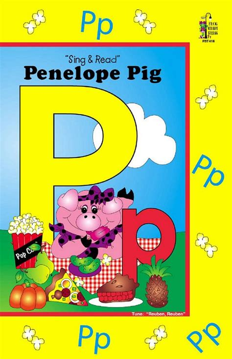 pre k books 136 | penelope pig big book 01