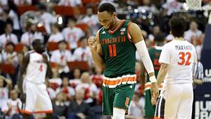 Hurricanes men's hoops team picked to finish fourth in ACC ...