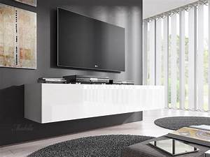 Tv Bank 160 Cm : tv meubel flame wit 160 cm meubella ~ Bigdaddyawards.com Haus und Dekorationen