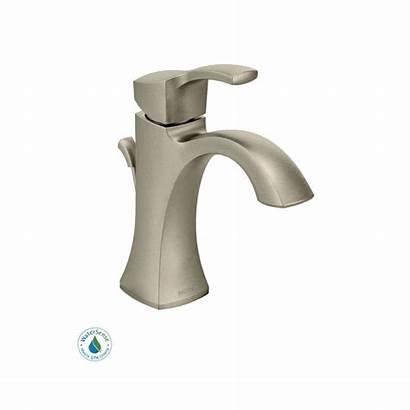 Moen Faucet Bathroom Build Nickel Single Hole