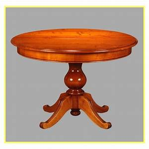 Table Ronde Extensible Pied Central : table ronde pied central ~ Teatrodelosmanantiales.com Idées de Décoration