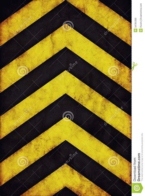 Warning Stripes Background Stock Illustration