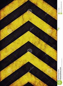 Construction Site Sign In Sheet Warning Stripes Background Stock Photo Image 34781200