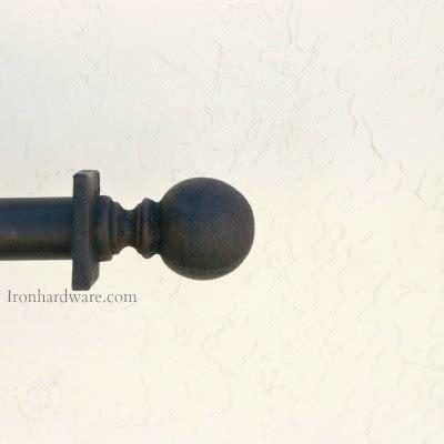 wrought iron drapery hardware finials paso robles ironworks