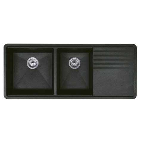 kitchen sinks blanco blanco precis undermount composite 20 in multi level 1 3 2984