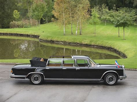 Mercedes 600 Pullman by Used 1971 Mercedes 600 Pullman Landaulet For Sale In