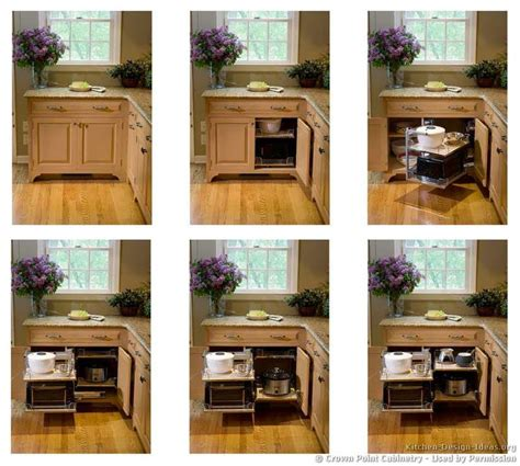 blind corner cabinet pull  unit woodworking projects