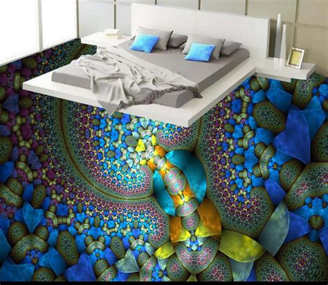 custom creative abstract painting  floor art wallpaper