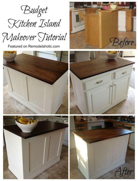 Kitchen Island Makeover Ideas 25 Best Ideas About Kitchen Island Makeover On Painting Cabinets Style
