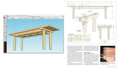 sketchup woodworkers  woodworking