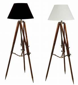 Trépied En Bois : lampe tr pied de campagne shop latitude deco ~ Teatrodelosmanantiales.com Idées de Décoration