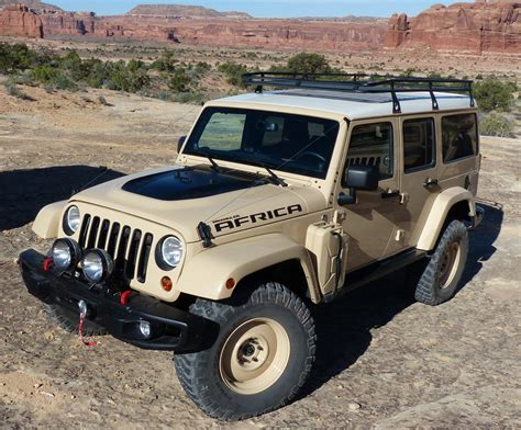 Jeep Africa Concept What It 39 S Like To Drive First