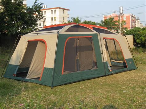 Tente Familiale 2 Chambres - large family tent 8 12 person layer uv50