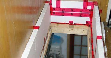 diy attic door insulation box   assorted stuff