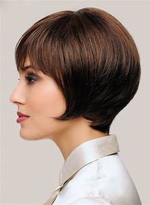 Brown Hair Color Chart Short Light Brown Capless Synthetic Hair Wigs