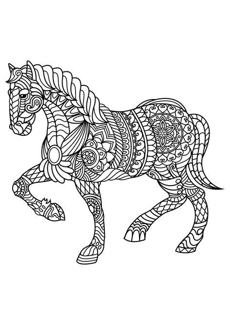 immagini di cavalli da colorare per bambini disegno di cavallo a dondolo a colori per bambini con