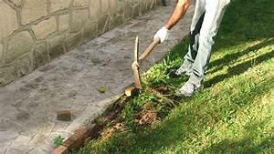 refaire les bordures dallee de jardin With faire ses bordures de jardin