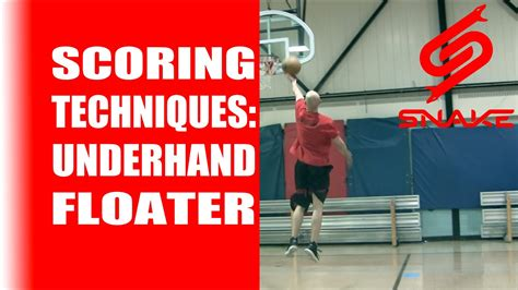 basketball scoring techniques underhand floater tutorial
