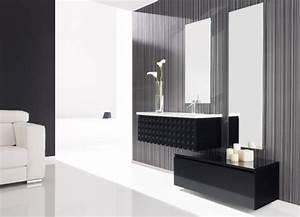 meuble salle de bain naxani mobilier style contemporain With meuble de salle de bain contemporain
