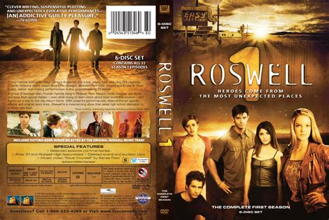 Roswell - Season 1 - TV DVD Scanned Covers - Roswell ...
