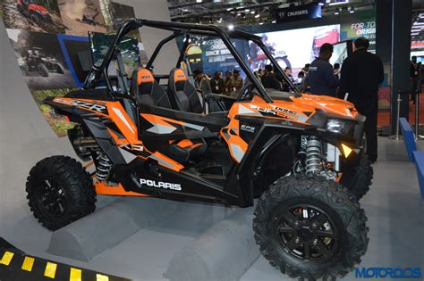 auto expo  polaris rzr xp turbo eps   sportsman  efi unveiled motoroids