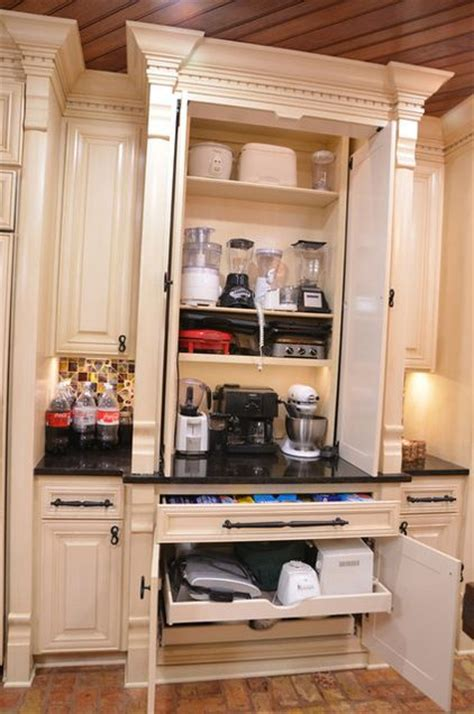 cabinet makers in my area love these kitchen gadget storage solutions considering