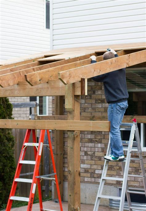 How To Build Covered Porch by Hdblogsquad How To Build A Covered Patio Day