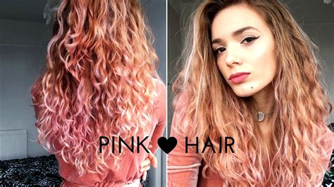 L'oreal Colorista Washout || #pink Hair