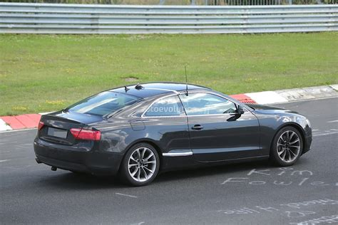 2016 Audi A5 Coupe Spied For The First Time