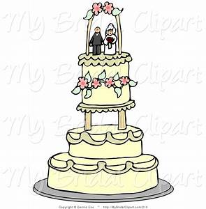 Bridal Clipart of a Bride and Groom Wedding Cake Toppers ...