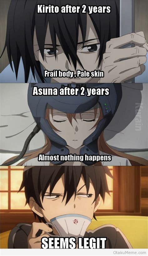 Kirito Memes - top 15 funny sword art online memes myanimelist net