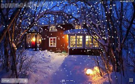 snow night android  wallpaper    apk