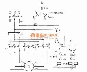 three phase motor double speed 2y y connection speed With phase sine wave diagram furthermore start motor control wiring diagram