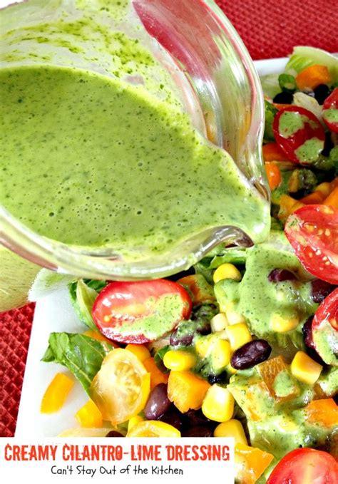creamy cilantro lime dressing  stay    kitchen