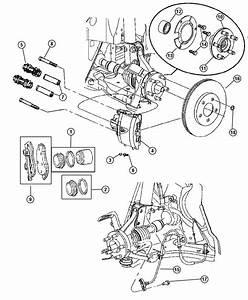 Dodge Neon Pad Kit  Front Disc Brake  Mopar V