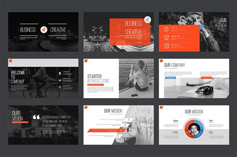 marketing agency powerpoint template