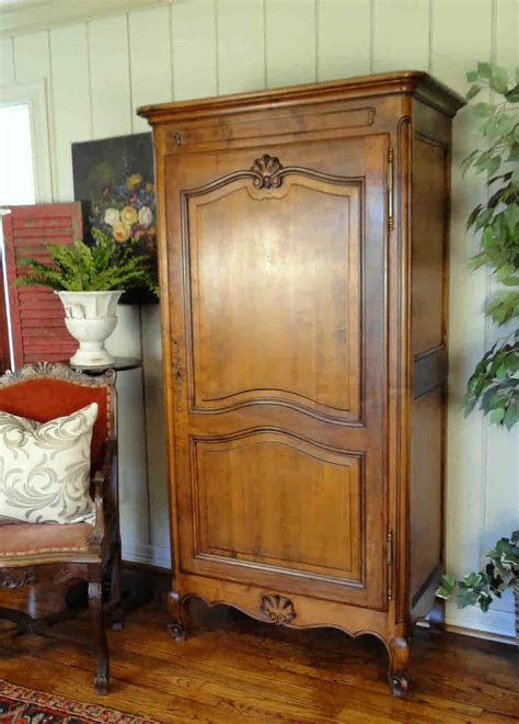 Clothing Armoire With Lock by Lock And Key Antique Country Wardrobe And Armoire