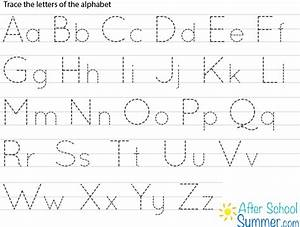 free printable alphabet tracing letters tracing clip With trace letters and numbers
