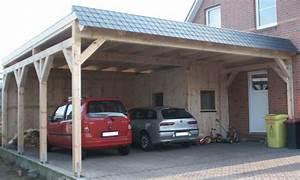 Holzgarage Mit Carport : flachdach carports holzgaragen als individueller bausatz ~ Markanthonyermac.com Haus und Dekorationen